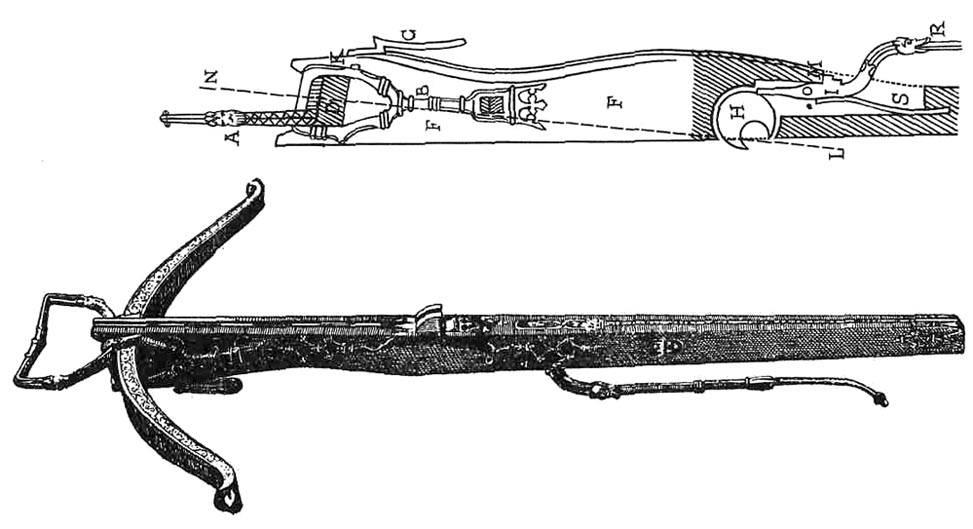 Охотничий арбалет Людовика XII